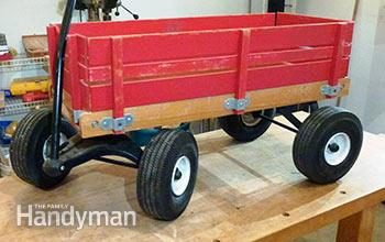 Breathe New Life Into An Old Wagon
