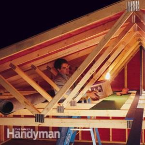 Garage Storage How Much Weight Can Trusses Take The