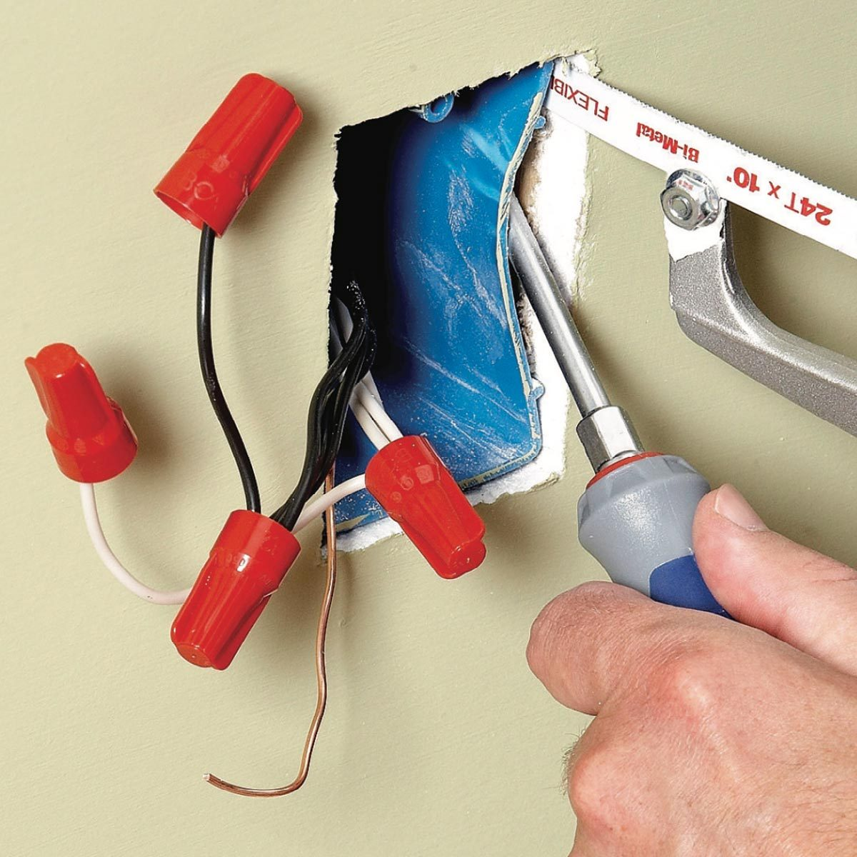 What You Should Do With Crowded Electrical Boxes The Family Handyman Wiring Sub Into Box