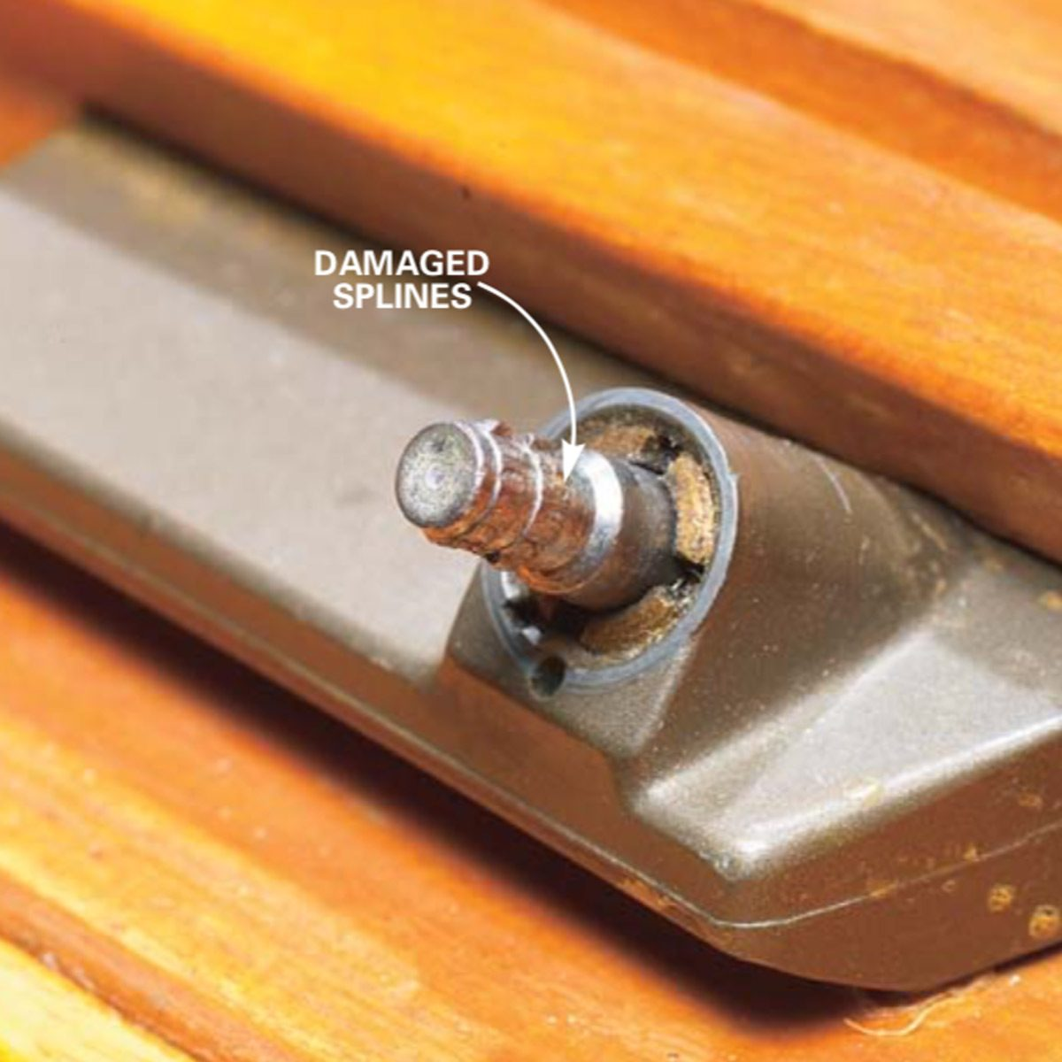 How To Replace A Cat Window Crank Operator Family