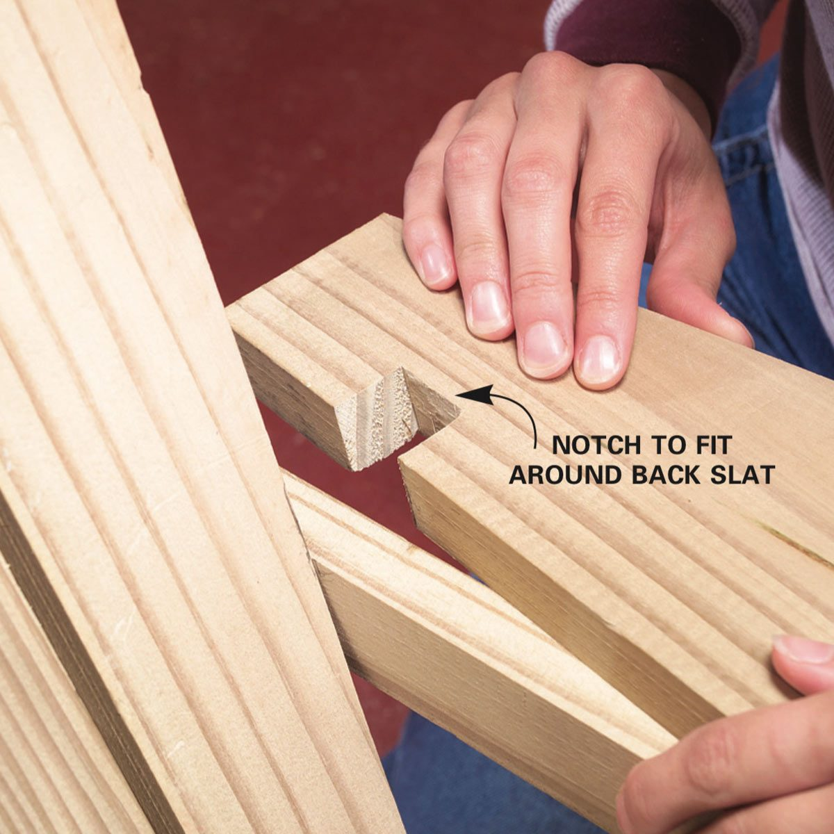 The Family Handyman: How To Make An Adirondack Chair And Love Seat