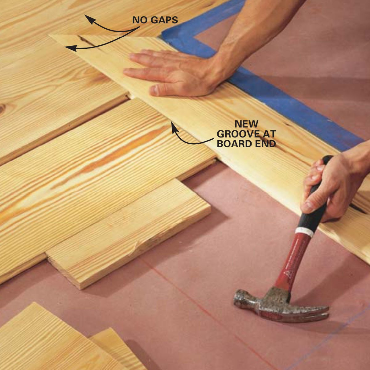 How To Install Pine Floors Family
