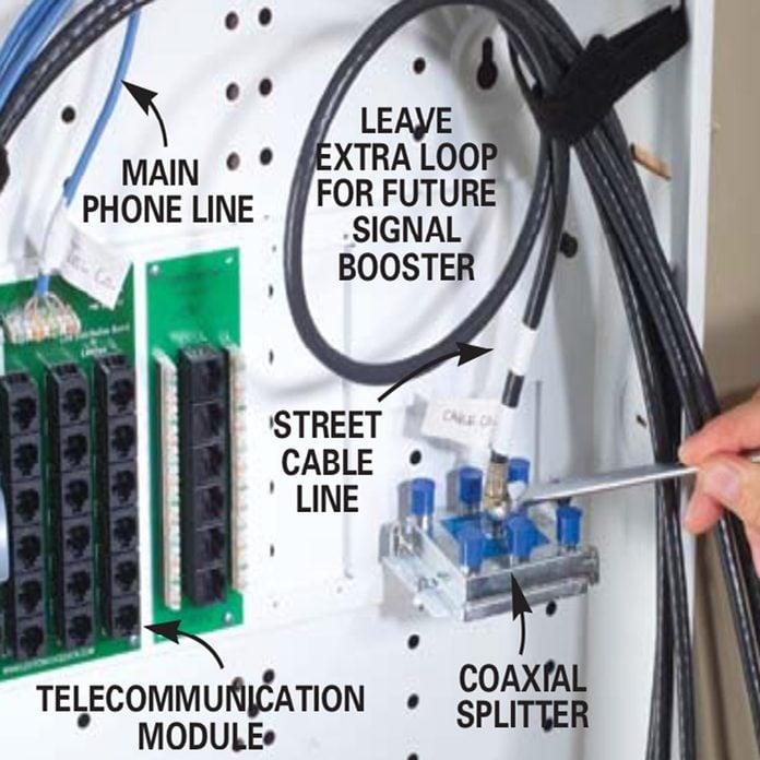 Installing Communication Wiring (DIY) | Family HandymanThe Family Handyman