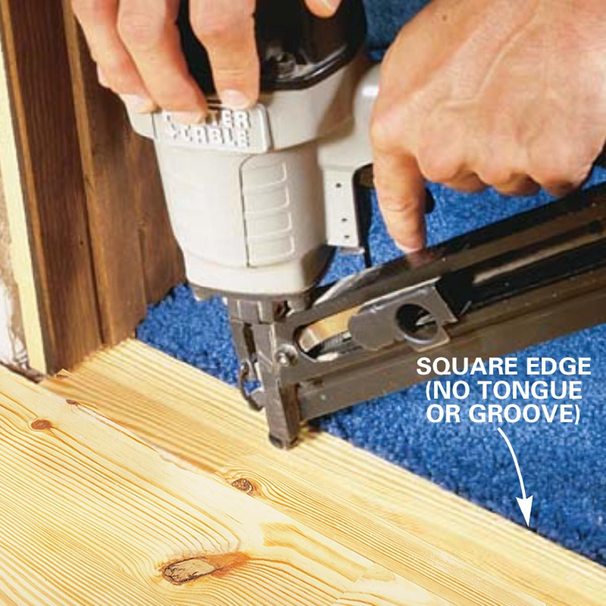 How To Install Pine Floors Family Handyman