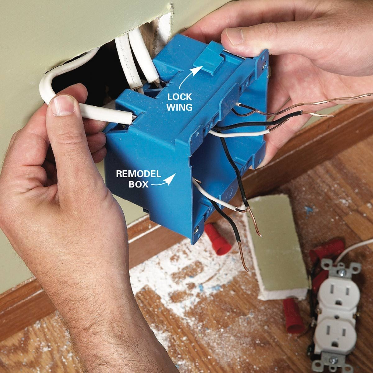 What You Should Do With Crowded Electrical Boxes The Family Handyman Wiring Box For Ceiling Fan