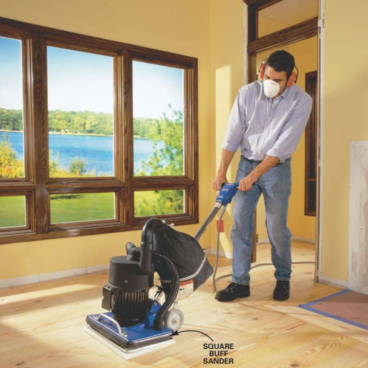 How To Install Pine Floors Family Handyman The Family