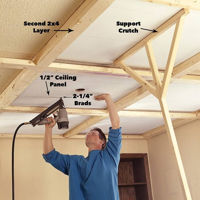 install ceiling panels