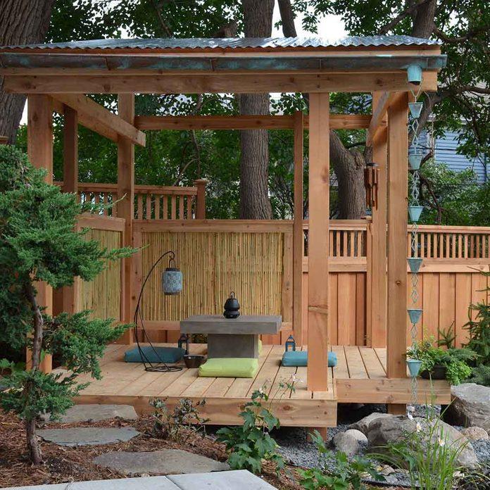 Outdoor Tea Room