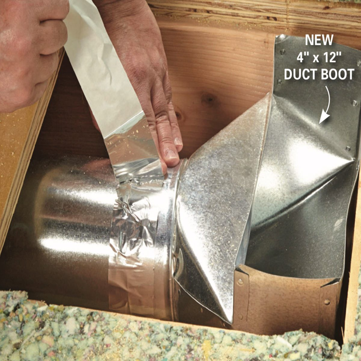 How To Install A Duct Booster Fan Family Handyman The Family