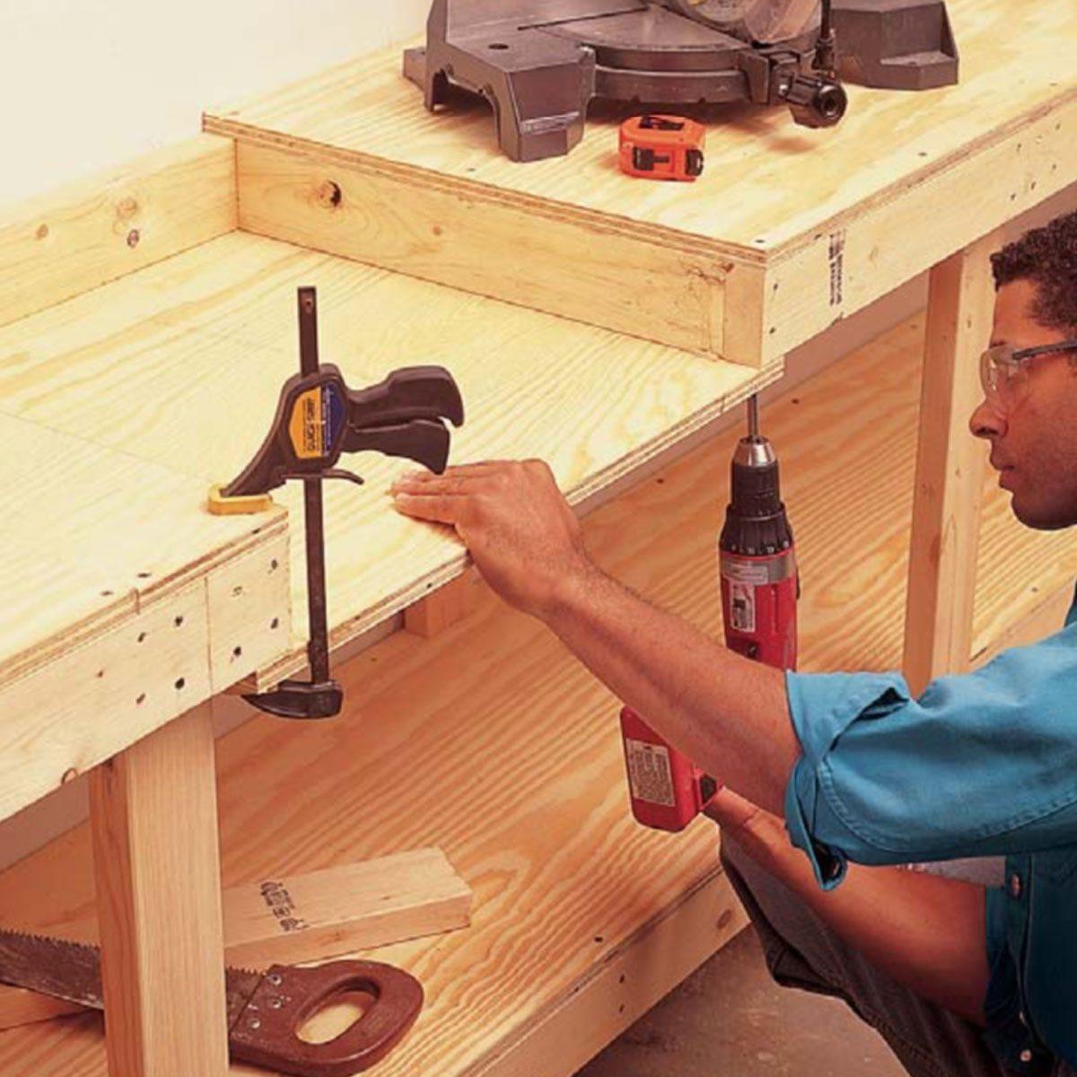 Modular Workbench Plans How To Build A Modular Workbench