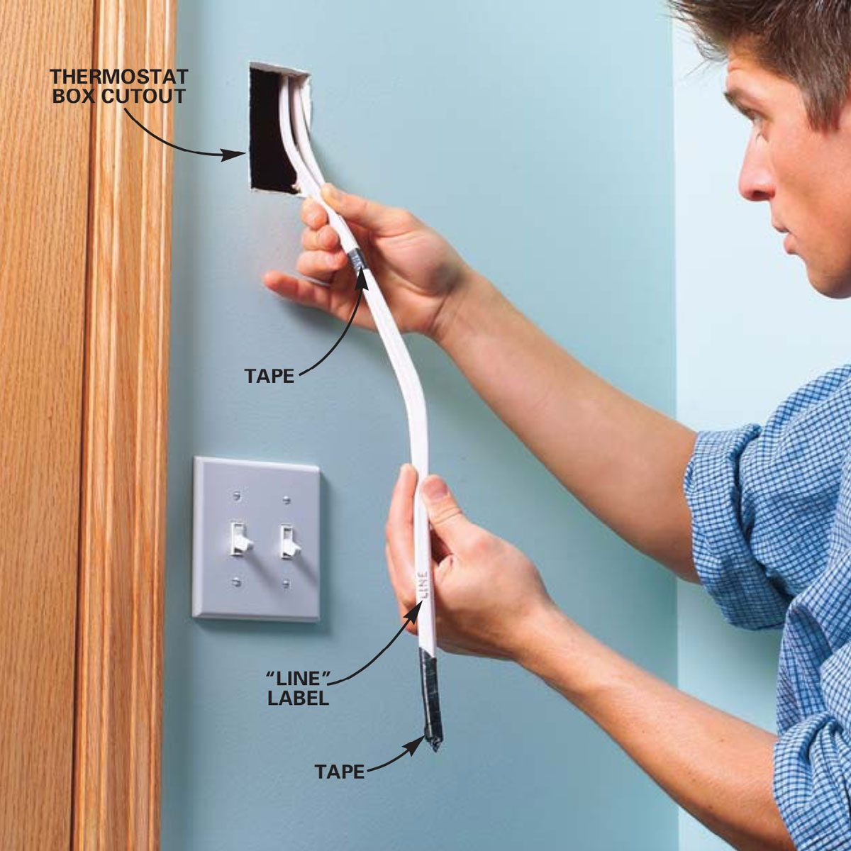 Wiring Baseboard Heater | Installing Electric Heaters Family Handyman The Family Handyman