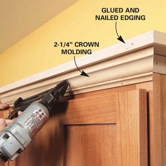 How To Add Shelves Above Kitchen Cabinets Diy Family Handyman