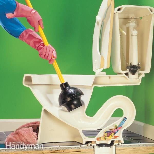 How to Unclog a Toilet Fast — The Family Handyman