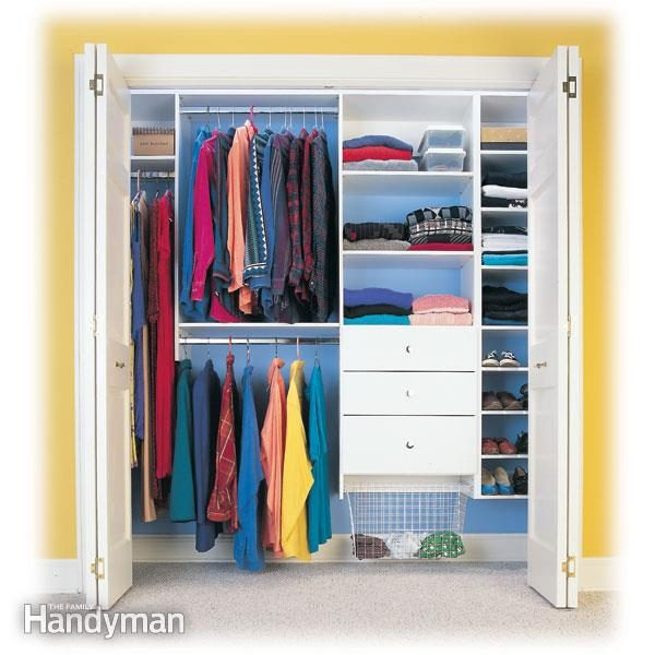 How to organize your closet custom designed closet for How to design closet storage