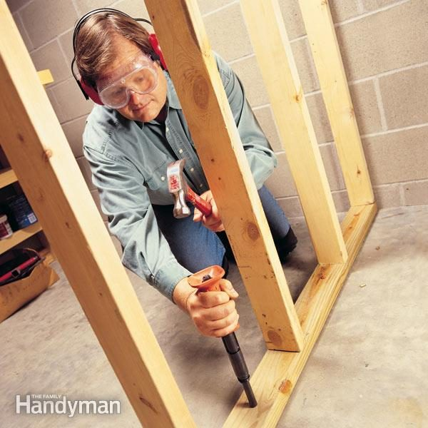 How To Use Powder Actuated Tools The Family Handyman