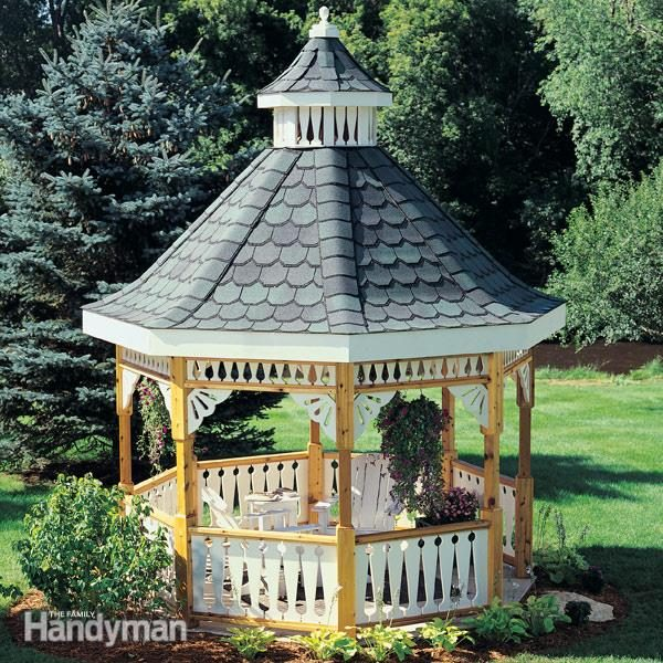 How To Build A Gazebo The Family Handyman