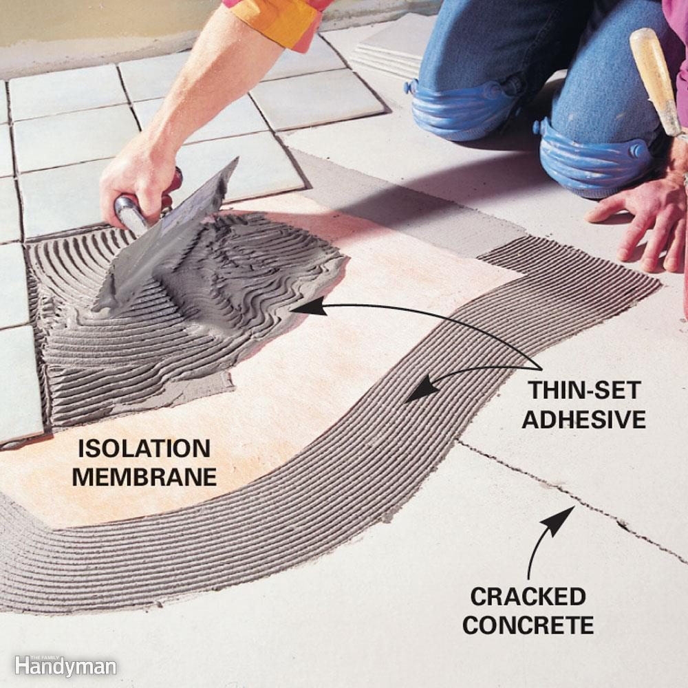 Will you use latex mastic or thin-set adhesive to install the tile?