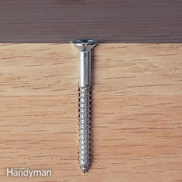 Using Drywall Screws For Woodworking The Family Handyman