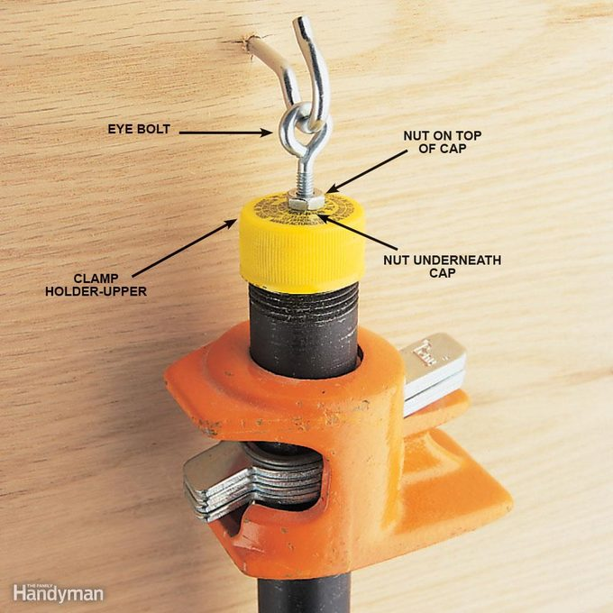 Pipe clamp hanger