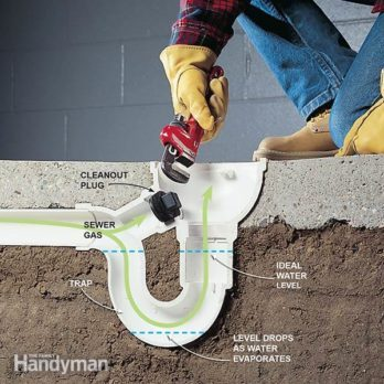 How to Eliminate Basement Odor and Sewer Smells & How to Unclog a Drain u2014 Tips from The Family Handyman