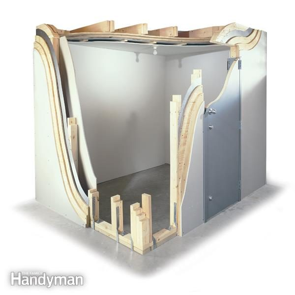 learn how to build storm shelters the family handyman