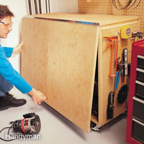 Folding Workbench The Family Handyman