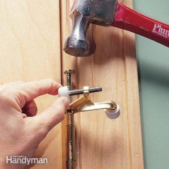How to Install Doorstops