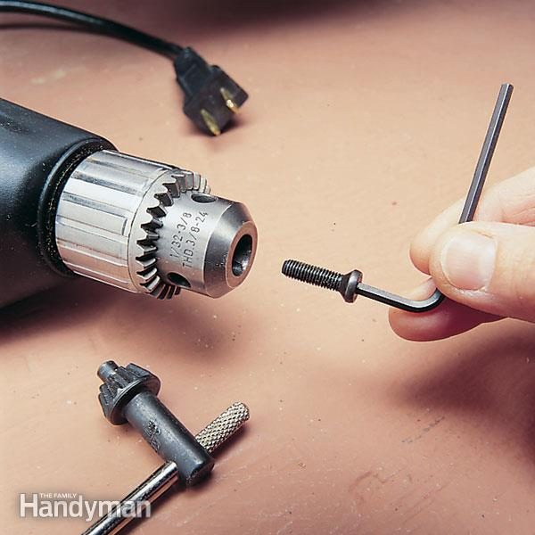 How To Install A Keyless Drill Chuck The Family Handyman