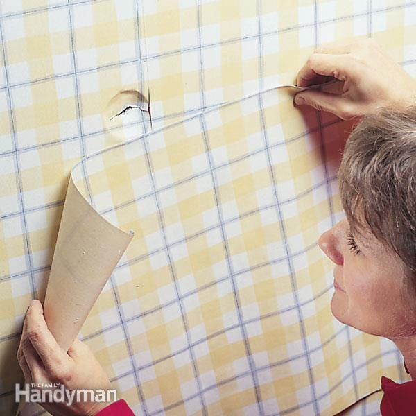 How To Repair Damaged Wallpaper The Family Handyman
