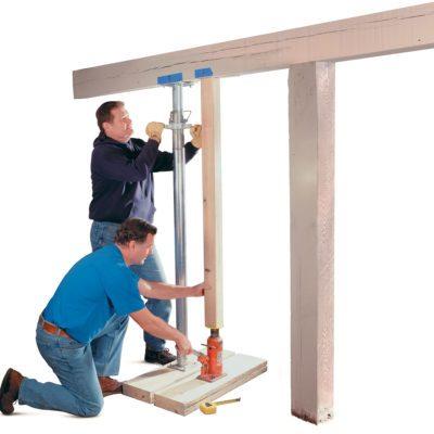 Repair a load bearing post