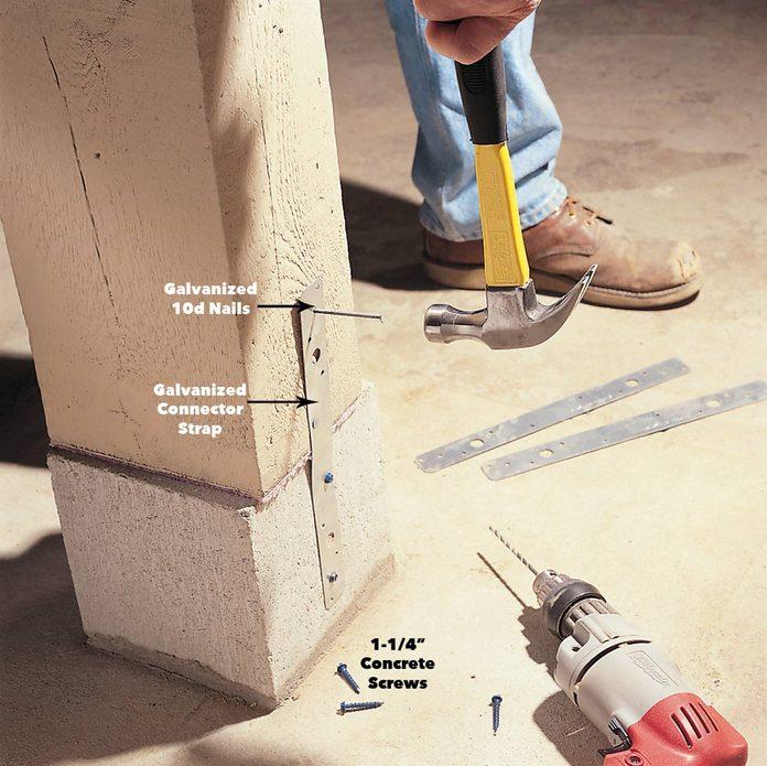 resetting beam post