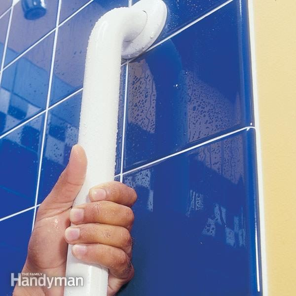 Shower Bar How To Install Bathroom Grab Bars Family