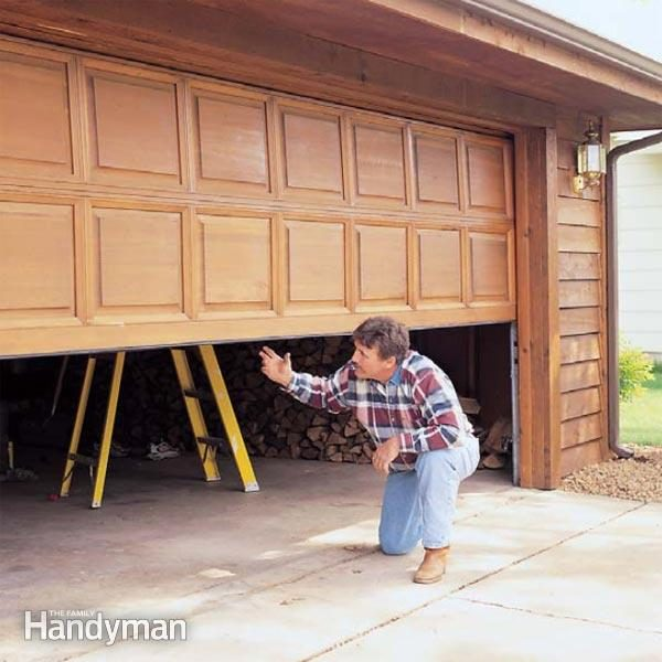 Garage Door Tune Up The Family Handyman