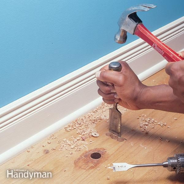 Hardwood Floor Repair How To Patch A Family Handyman