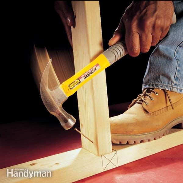 Toenailing Basics The Family Handyman
