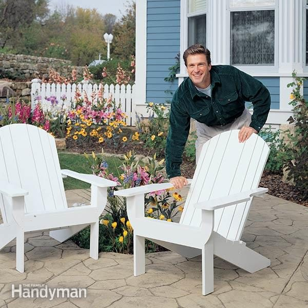 How To Build An Adirondack Chair Family Handyman