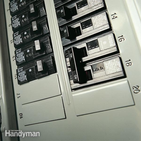 Testing a Circuit Breaker Panel for 240-Volt Electrical Service ...