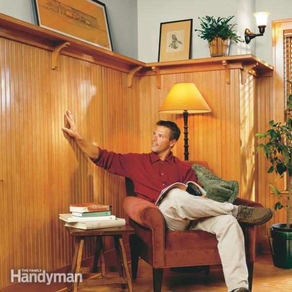 How To Install Beaded Wainscoting The Family Handyman