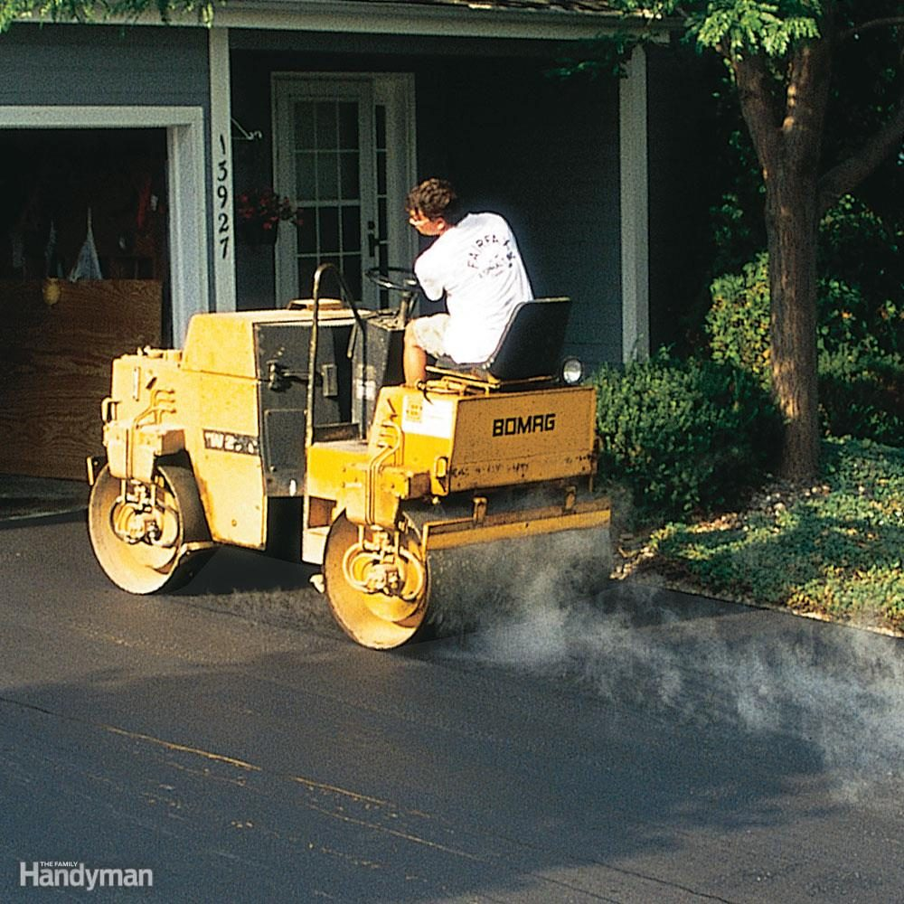 What equipment will you use to compact the driveway?