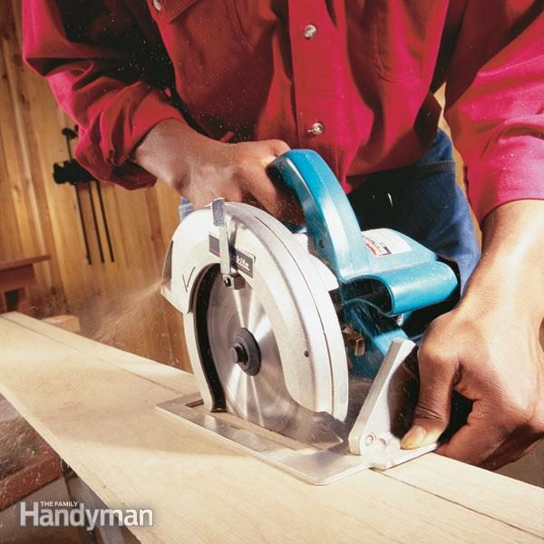 How To Use A Circular Saw Long Cuts The Family Handyman