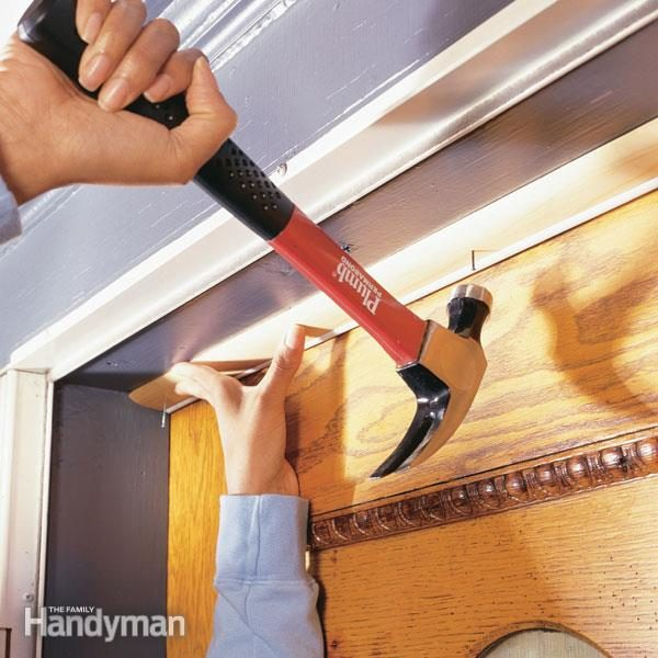 How To Weather Strip A Door The Family Handyman