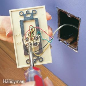 Replace a Wall Phone Jack and Phone Jack Wiring