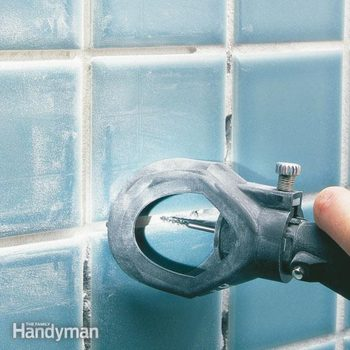 How to remove grout from tile