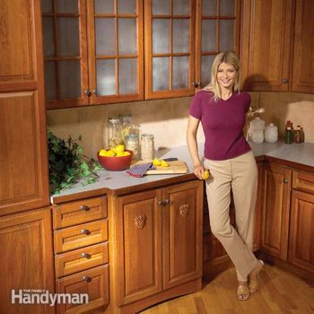 Kitchen Cabinets 9 Easy Repairs Diy Family Handyman