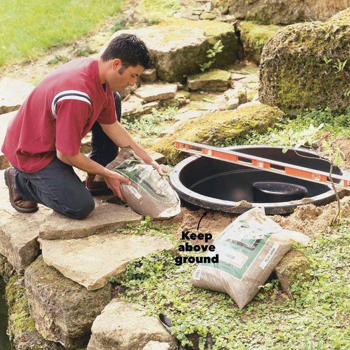 bamboo diy water fountain