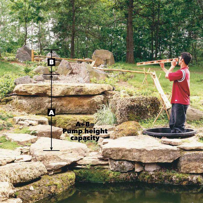 japanese bamboo pump fountain