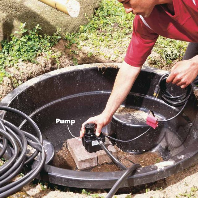bamboo fountain pump