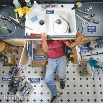 How To Fix A Leaky Faucet The Family Handyman