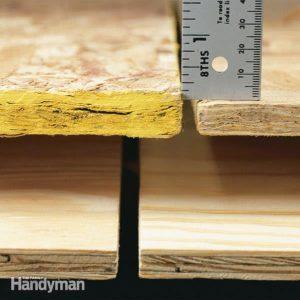 Oriented Strand Board (OSB board) vs. Plywood