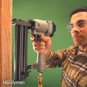 How to Use a Trim Nailer Gun